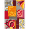 Tapis multicolore rectangulaire Arte Espina Mix Match