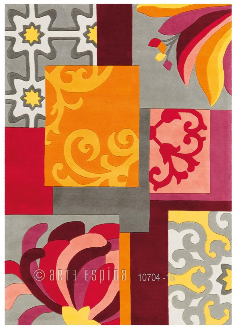 Tapis multicolore rectangulaire Arte Espina Mix Match