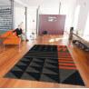 Tapis design en acrylique orange Ethno Pop Arte Espina