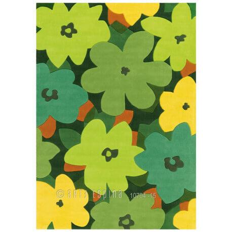 Tapis design vert Bloom Arte Espina