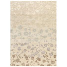 Tapis Arte Espina bambou et polyester beige Bloom