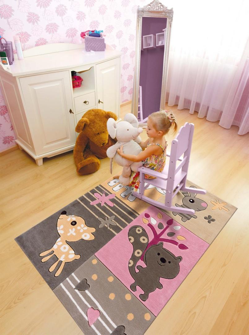 tapis multicolore pour chambre de b b tipoo kids arte espina. Black Bedroom Furniture Sets. Home Design Ideas
