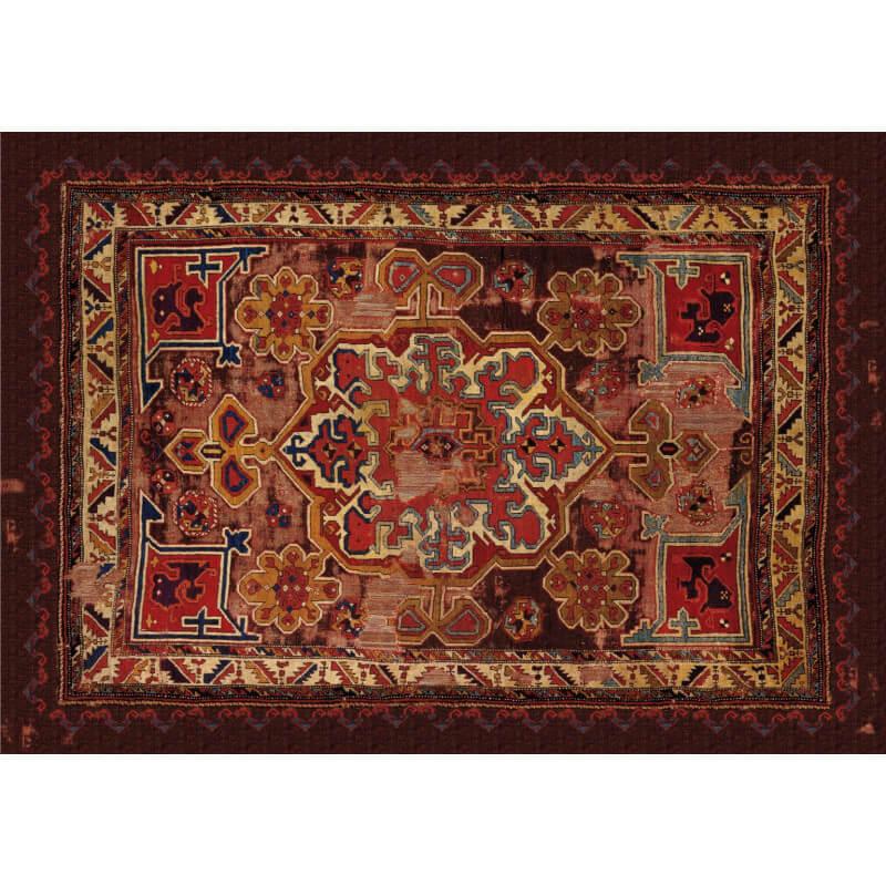 tapis ext rieur style oriental en caoutchouc recycl draco. Black Bedroom Furniture Sets. Home Design Ideas