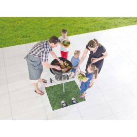 Tapis de barbecue moderne et résistant Metropolitan