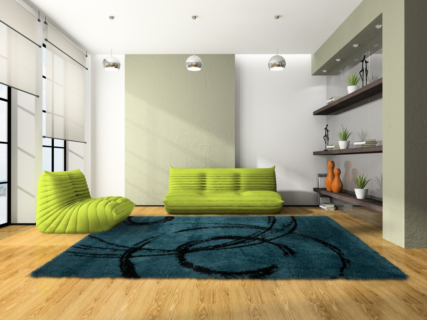tapis shaggy vert anis cool salle de bains douche tapis shaggy tapis de bain with tapis shaggy. Black Bedroom Furniture Sets. Home Design Ideas