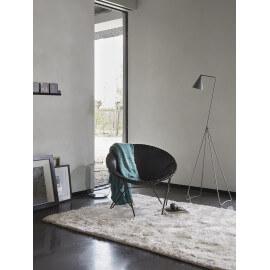 Tapis shaggy uni blanc New Glamour par Esprit Home