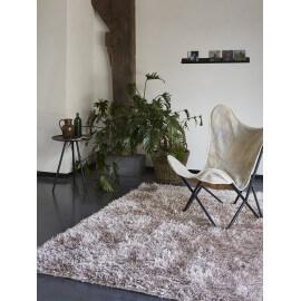 Tapis shaggy beige Cool Glamour II par Esprit Home