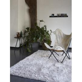 Tapis shaggy blanc Cool Glamour II par Esprit Home
