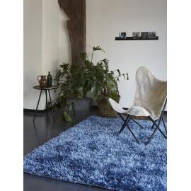 Tapis shaggy bleu Cool Glamour II par Esprit Home