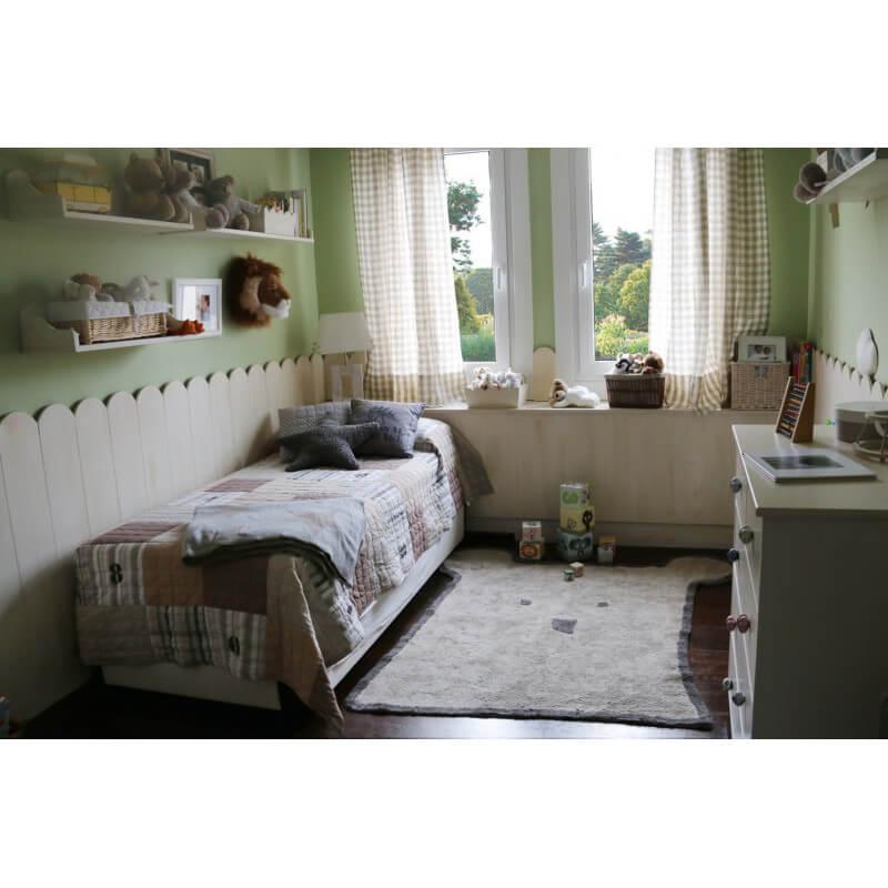 Tapis Taupe Pour Chambre Enfant Bear Lorena Canals