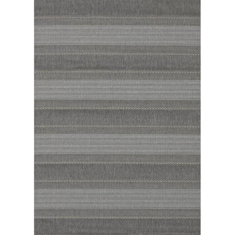 tapis pour terrasse et int rieur en polypropyl ne gris cusack. Black Bedroom Furniture Sets. Home Design Ideas