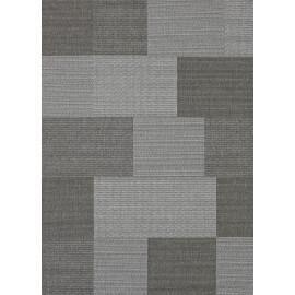 Tapis intérieur et extérieur contemporain gris Matrix