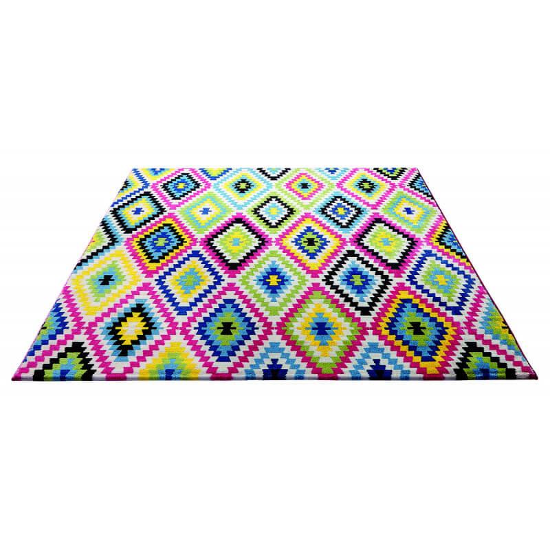 tapis ethnique color pour salle manger fresh kelim. Black Bedroom Furniture Sets. Home Design Ideas
