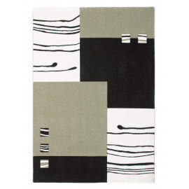 Tapis design rectangulaire beige Dream