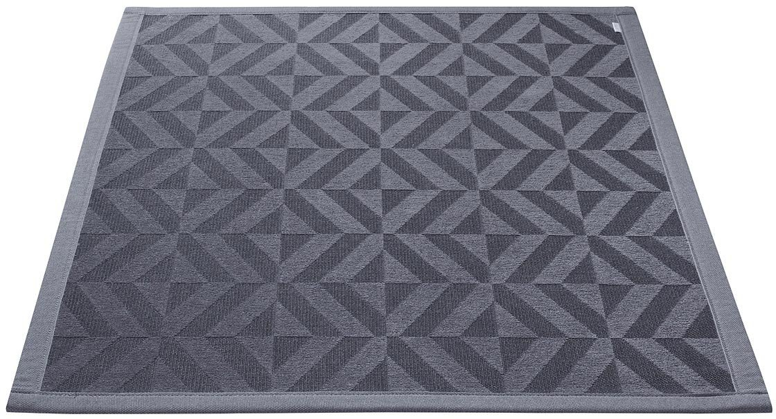 tapis antid rapant de salle de bain gris kaleidoscope esprit home. Black Bedroom Furniture Sets. Home Design Ideas