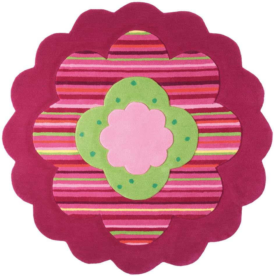 Tapis pour chambre de fille Flower Shapes par Esprit Home