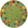 Tapis rond pour enfant vert Bloom Field par Esprit Home