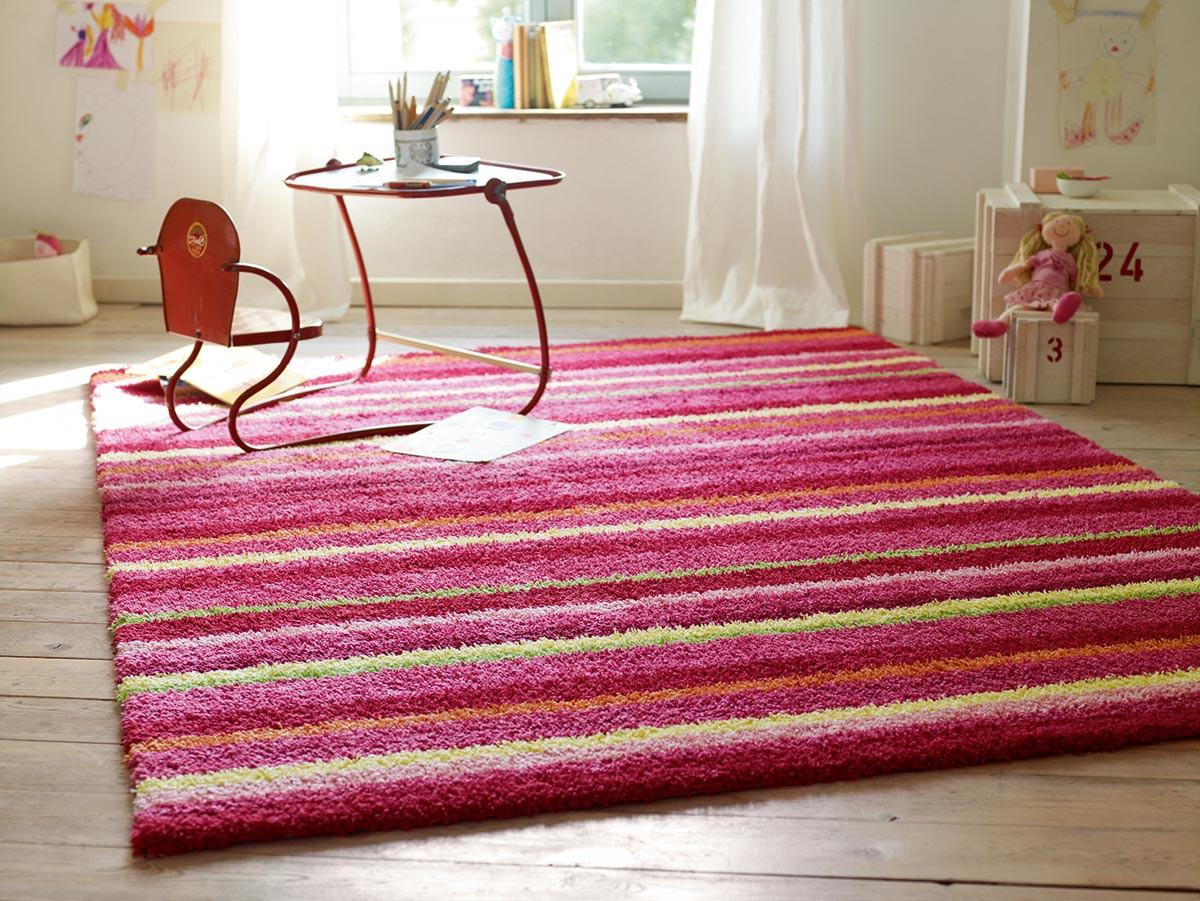 doux pour enfant rose Funny Stripes par Esprit Home