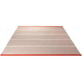 Tapis plat tissé main du Népal sable Simple Stripe Esprit Home