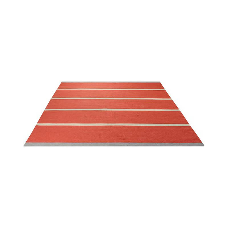 tapis plat tiss main du n pal orange simple stripe esprit. Black Bedroom Furniture Sets. Home Design Ideas