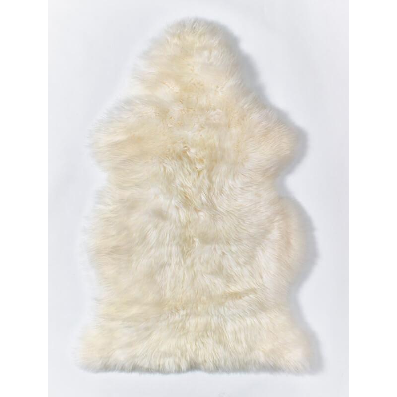 tapis en peau de mouton naturel ivoire courchevel. Black Bedroom Furniture Sets. Home Design Ideas