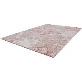 Tapis de salle à manger rose avec effet 3D Indila