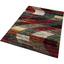 Tapis multicolore à poils court ethnique Arabian Sands