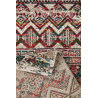 Tapis vintage ethnique multicolore Riad