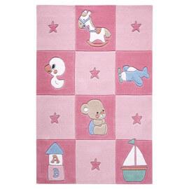 Tapis rose pour chambre de bébé Newborn