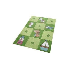 Tapis vert pour chambre de bébé Newborn