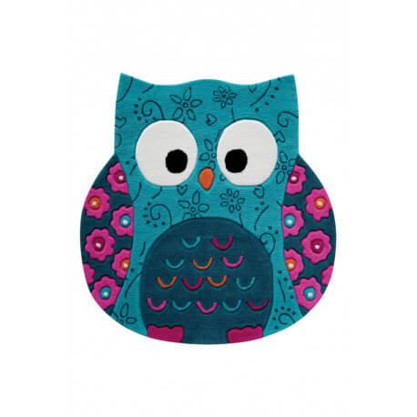 Tapis hibou en acrylique Littel Owl