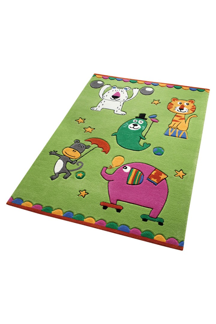 tapis pour chambre d 39 enfant vert tuft main little artists. Black Bedroom Furniture Sets. Home Design Ideas