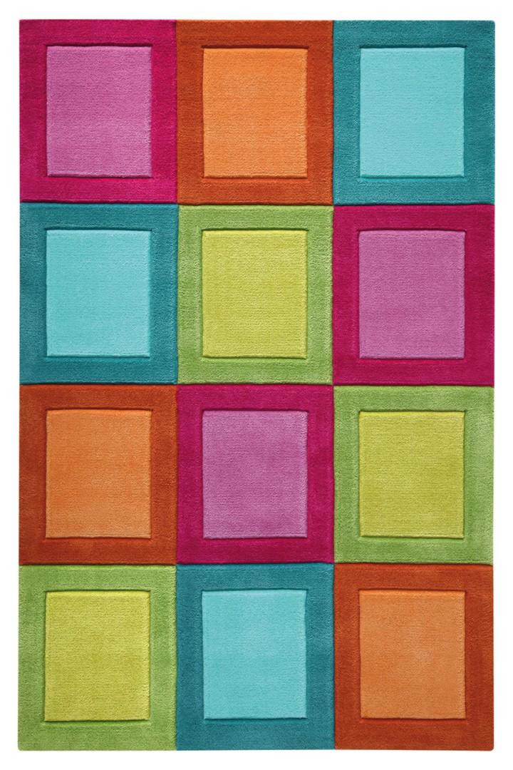 Tapis multicolore pour enfant Smart Button