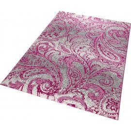 Tapis Esprit rose moderne d'intérieur Paisley
