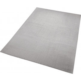 Tapis en polyester gris uni Chill Glamour Esprit Home