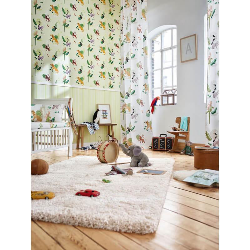 tapis en polyester ivoire uni chill glamour esprit home. Black Bedroom Furniture Sets. Home Design Ideas