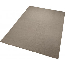 Tapis en polyester beige uni Chill Glamour Esprit Home