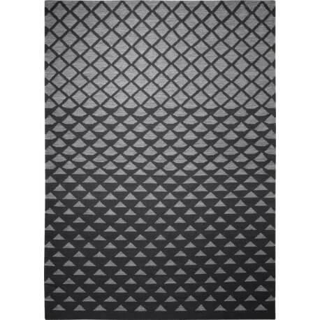 Tapis tissé main géométrique gris Wanda Esprit Home
