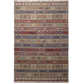 Tapis ethnique multicolore Agra Esprit Home