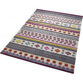 Tapis du Népal en pure laine multicolore Ethnic Chic Esprit Home