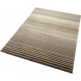 tapis marron ray courtes mches nifty stripes esprit home - Tapis Marron