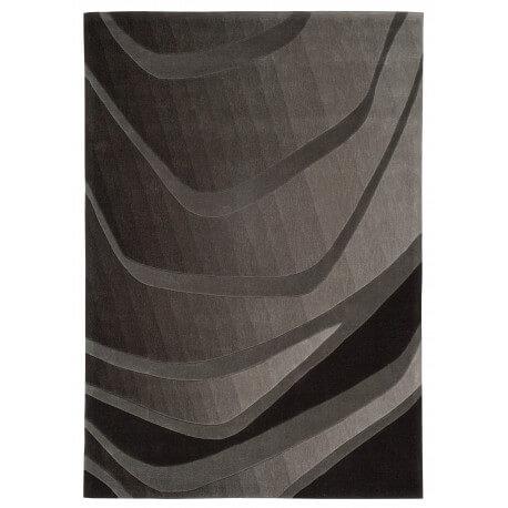 Tapis noir in imotion par Arte Espina