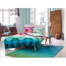 Tapis dégradé bleu pour salon Sunrise Esprit Home