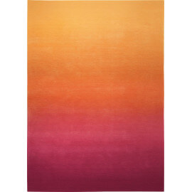 Tapis dégradé orange pour salon Sunrise Esprit Home