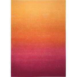 Tapis dégradé orange pour salon Sunrise Esprit Home