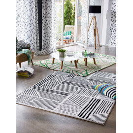 Tapis moderne vert Natural Wilderness Esprit Home