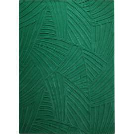 Tapis en laine de Nouvelle-Zélande vert Palmia Esprit Home