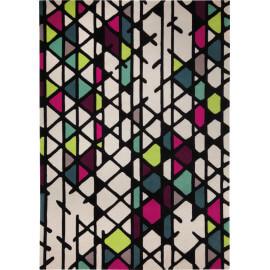 Tapis multicolore géométrique Artisan Pop Esprit Home