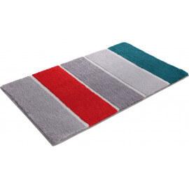 Tapis de bain rayé gris Block Stripe Esprit Home