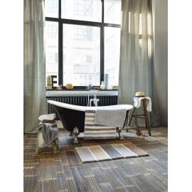 Tapis de bain rayé multicolore Block Stripe Esprit Home